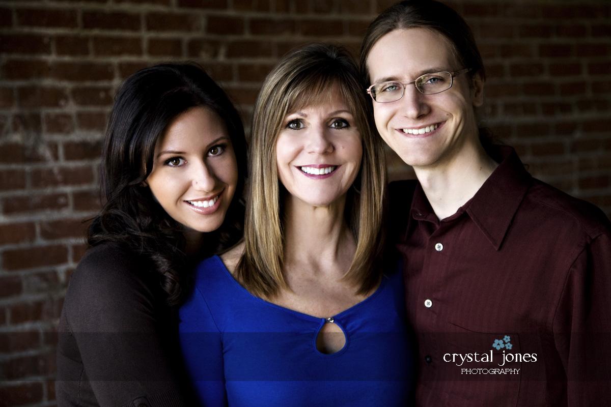 in studio family portraits in roseville california