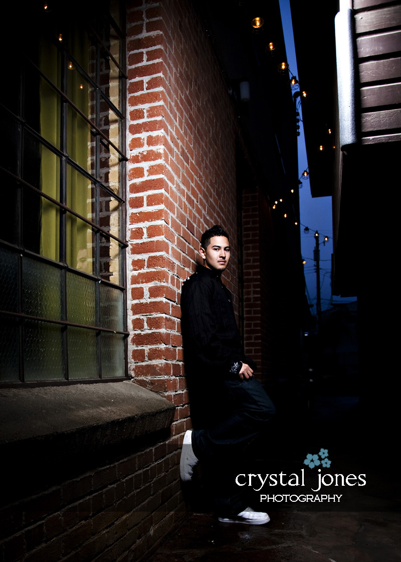 custom high school senior portrait session in downtown sacramento