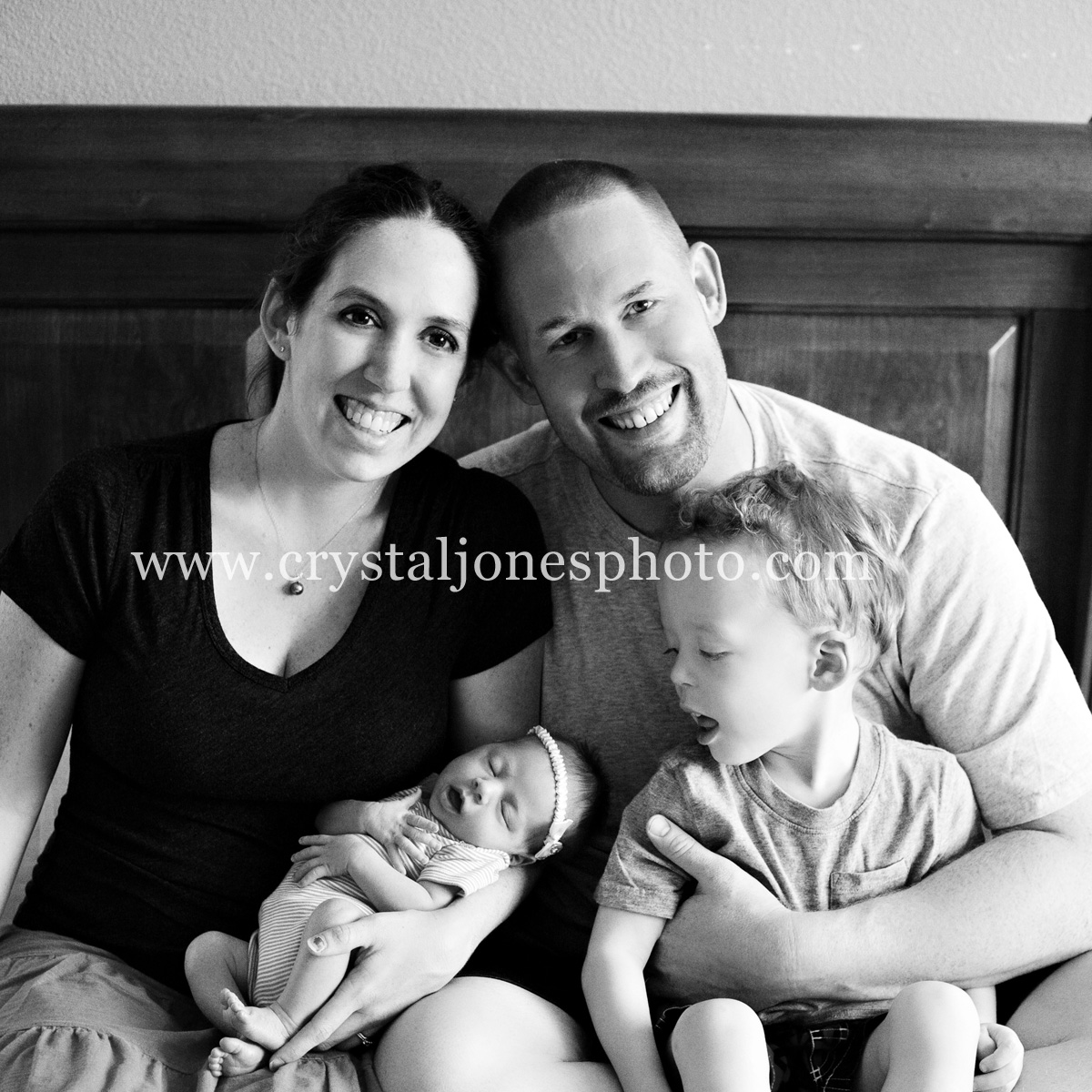 in home newborn and family portraits in roseville california