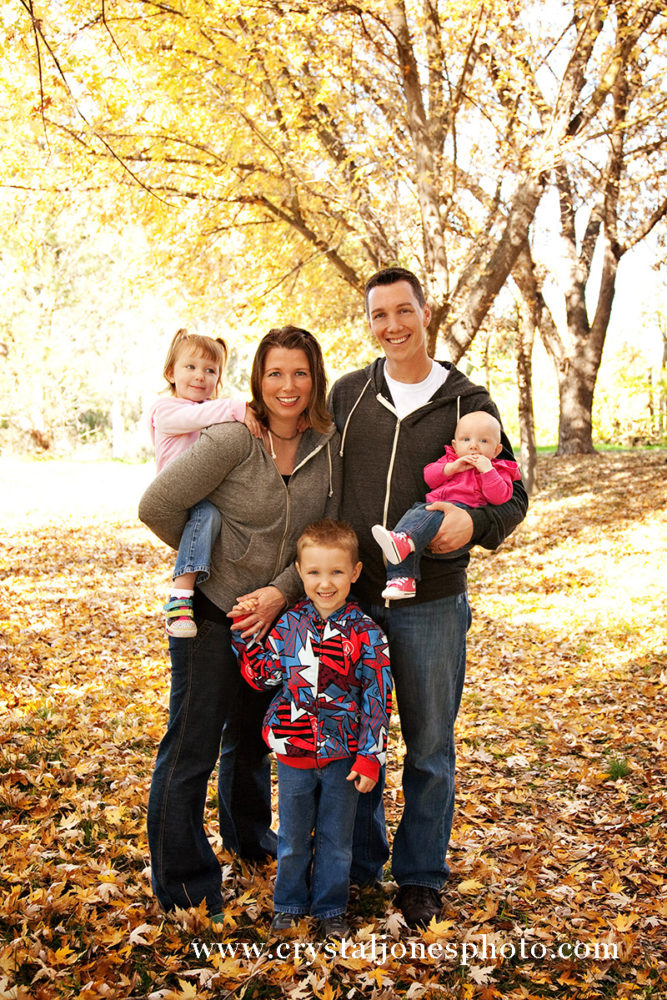 Fall Family Portraits in Newcastle CA