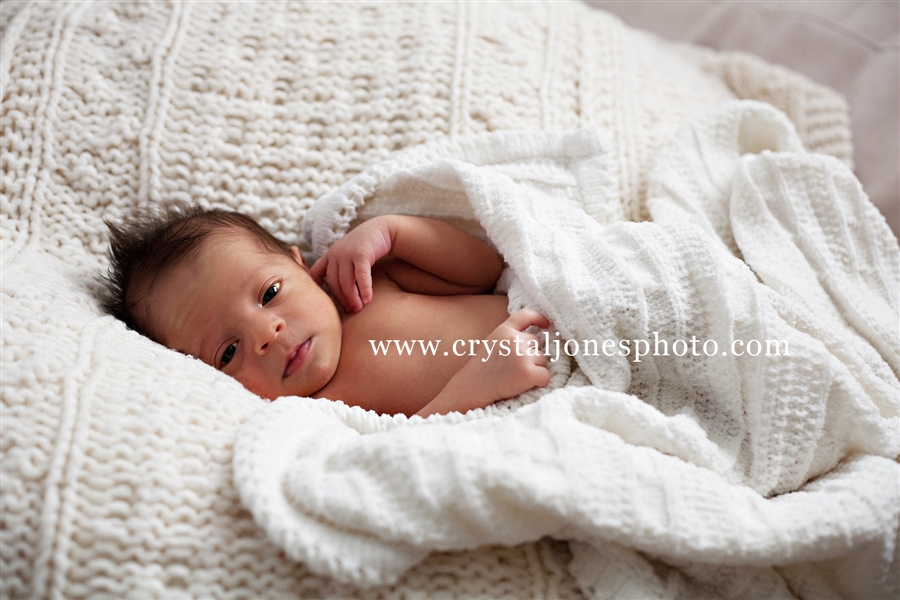 In Home Stylized Newborn Session in Sacramento CA