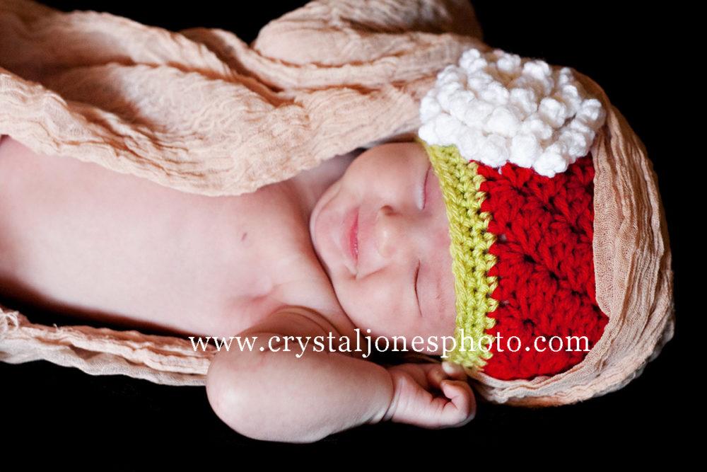 Studio Newborn Portraits in Rocklin CA