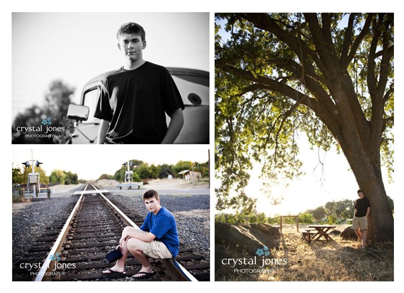 outdoor senior portraits in loomis california