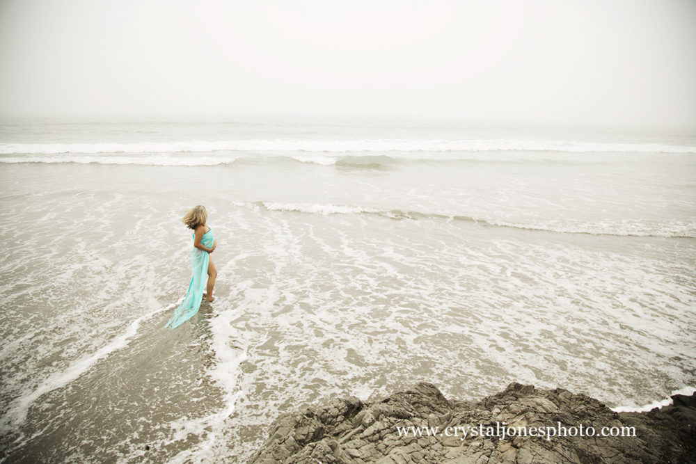 Family Maternity Portraits at Dillon Beach