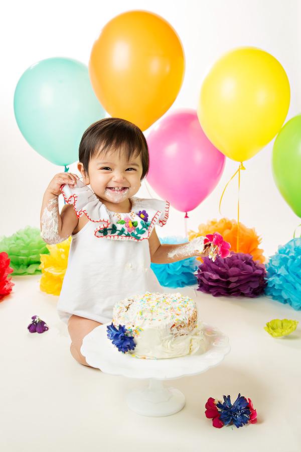 Fiesta Cake Smash for Baby Girl 054