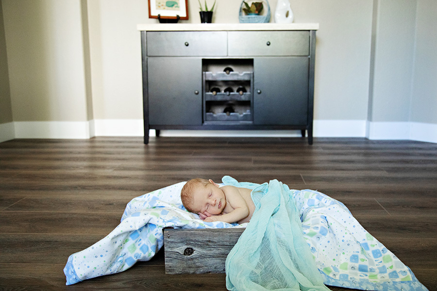 Newborn Boy at Home Portraits in Sacramento 119