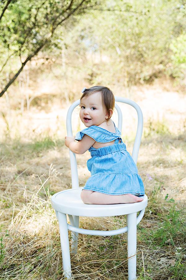 One Year Old Baby Girl Milestone Photos 032