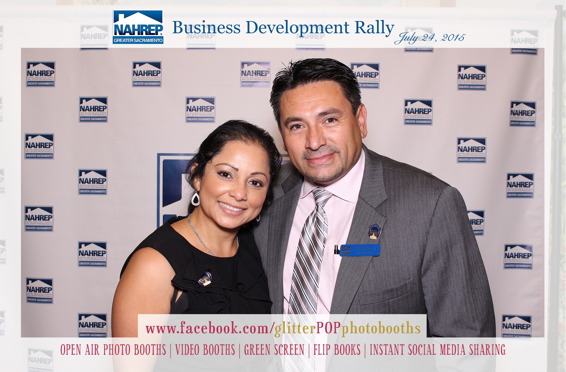 NAHREP Business rally photobooth