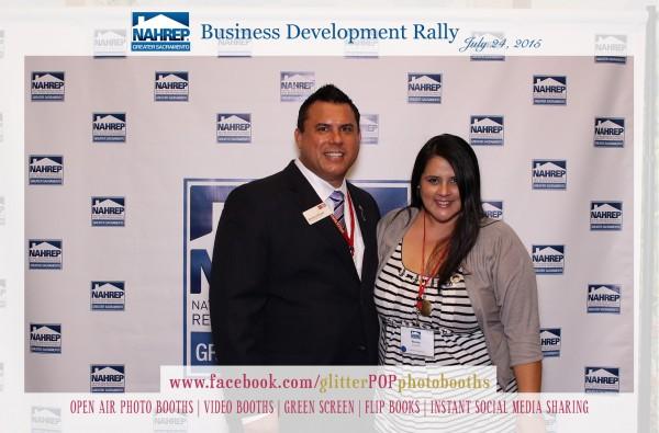 NAHREP Business rally photobooth