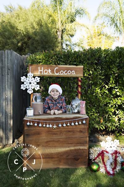 cocoa and candy canes mini sessions in rocklin california