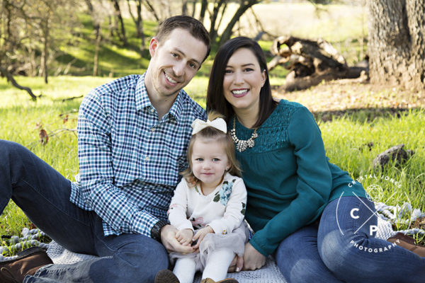 Two year old milestone portraits in roseville california
