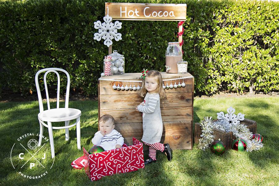 Hot Cocoa Stand Mini Sessions Roseville California