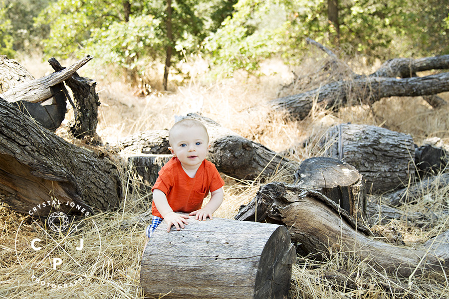 Adorable 8 Month Old Baby Boy Photos in Roseville CA