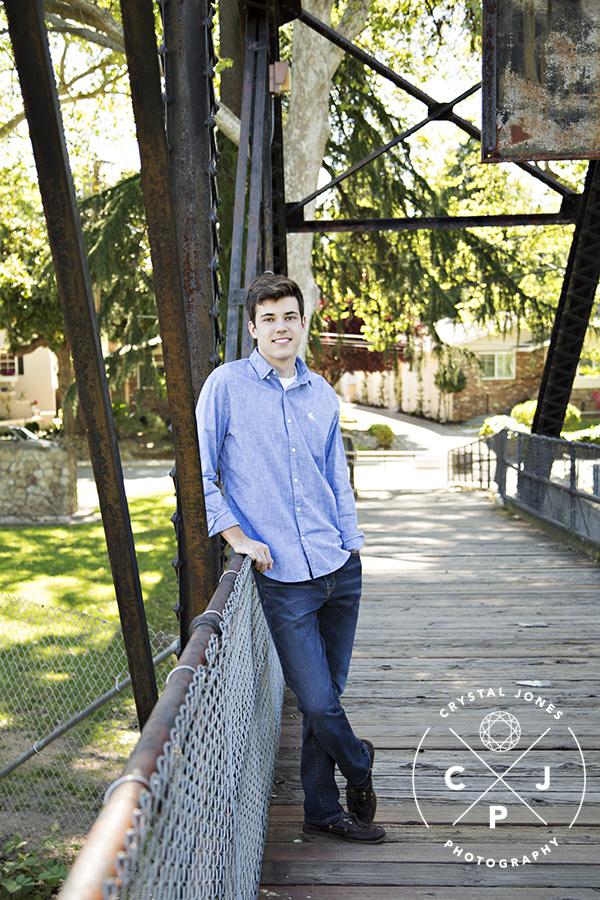 High School Senior Portraits in Roseville CA