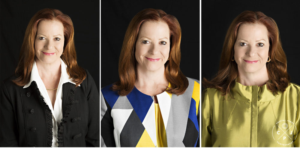 Three Headshot Looks for One Session