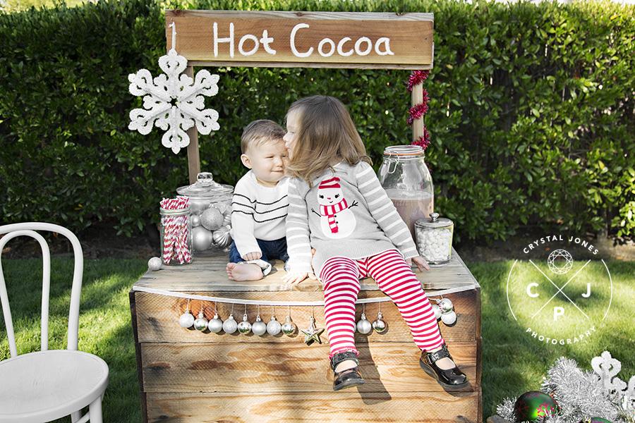 hot cocoa stand mini sessions 2017