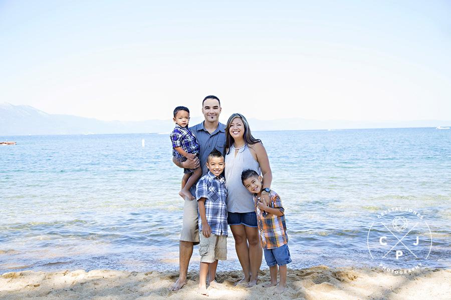 Lake Tahoe Professional Family Portraits