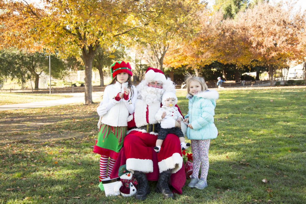 Free Santa Photos at Breen Park in Rocklin C