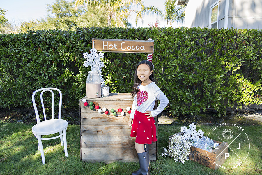 Holiday Mini Session Photos in Rocklin