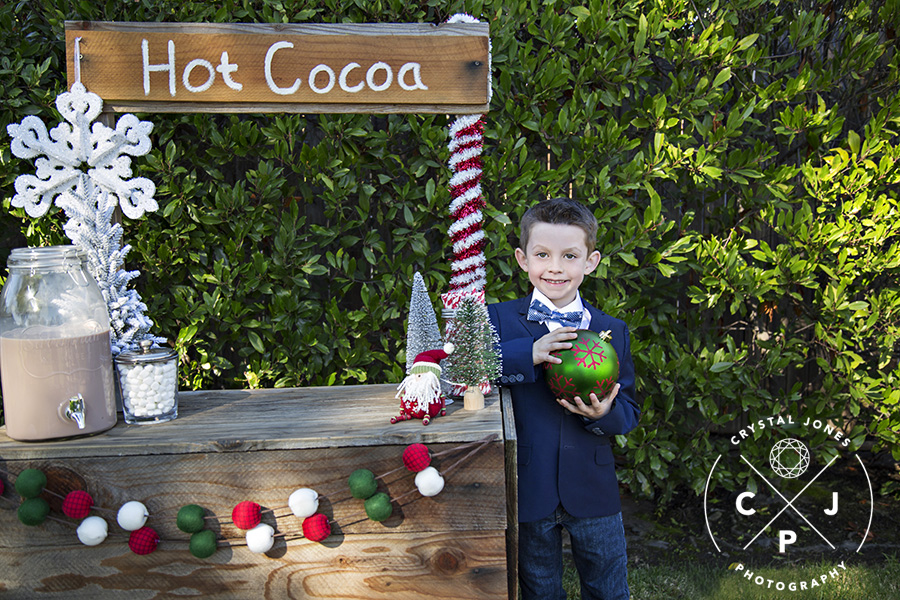 Hot Cocoa Stand Mini Session Photos