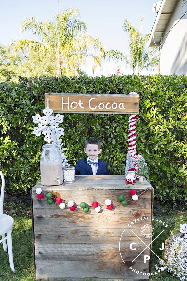 Hot Cocoa Stand Mini Sessions