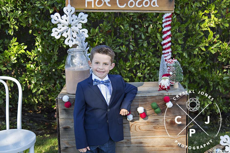 Hot Cocoa Stand Mini Sessions Rocklin CA