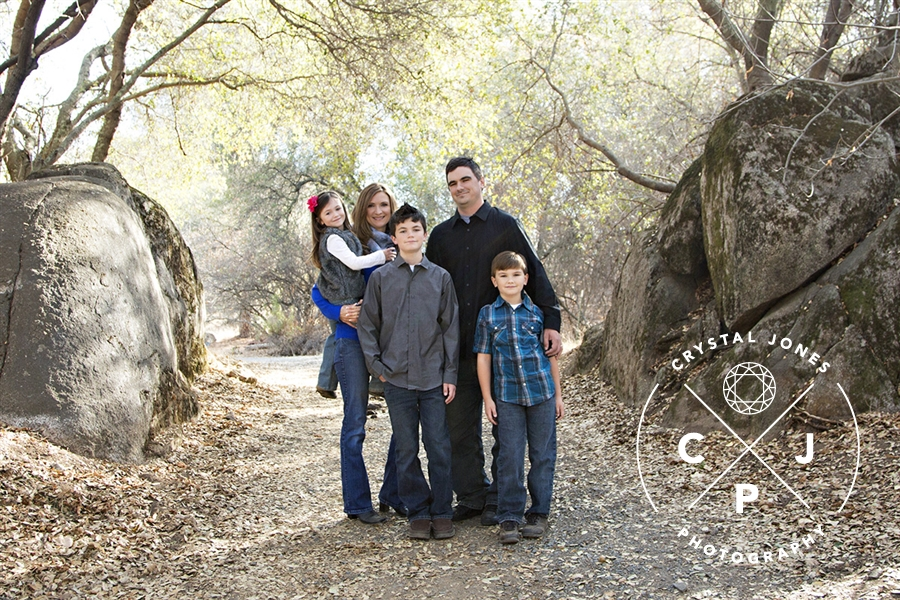 family portraits at a park in loomis ca