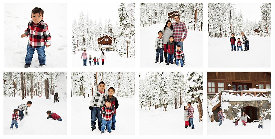 Family Snow Photos Deal 2018