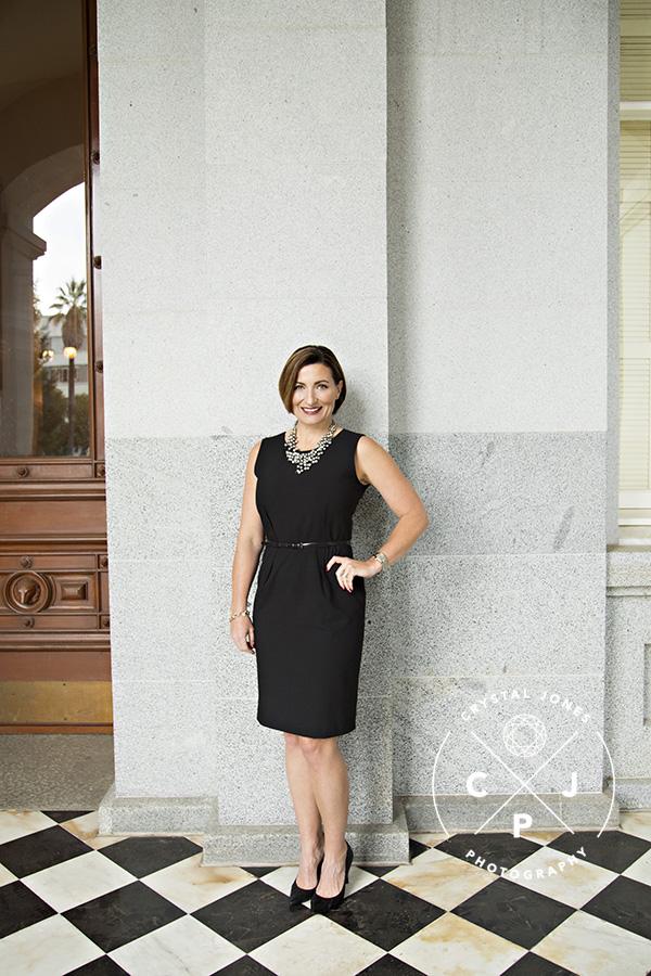 Coldwell Banker Team Headshots at the Sacramento Capitol