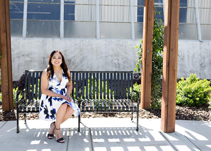 Grad Photos at Sac State Campus