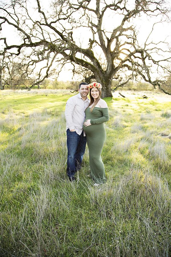 maternity portraits in Roseville CA