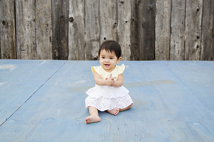 9 month photos in downtown rocklin ca