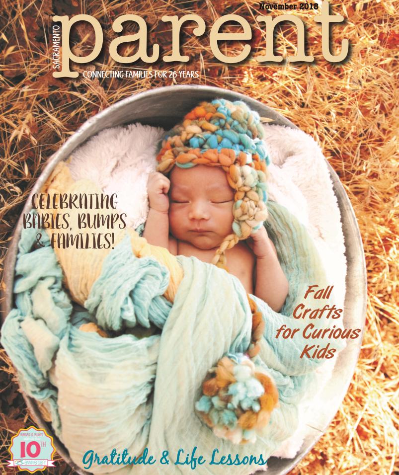 Sacramento Parent Magazine Cover November 2018