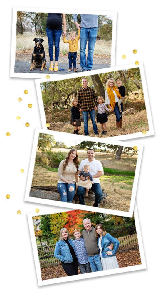 Last minute mini sessions for family photos in roseville ca