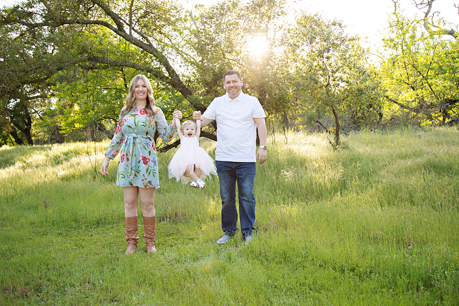 Family Photos for One Year Old Birthday