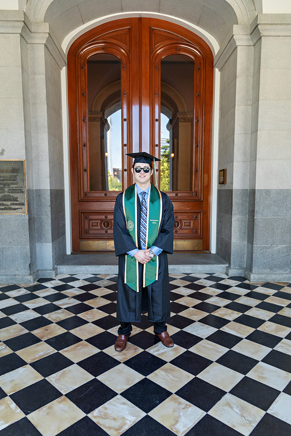 Sac State Graduate at the Capitol