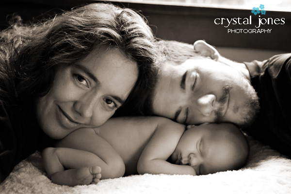 Rocklin Newborn Photography in Your Home
