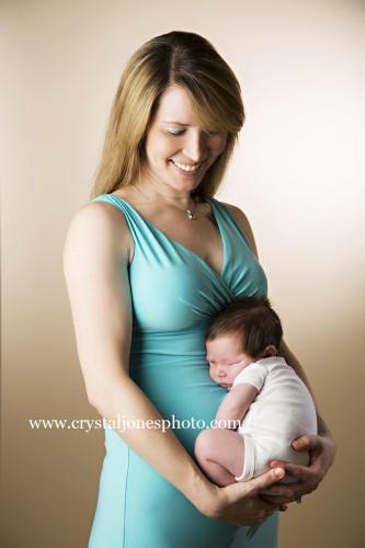 roseville in home professional newborn portraits