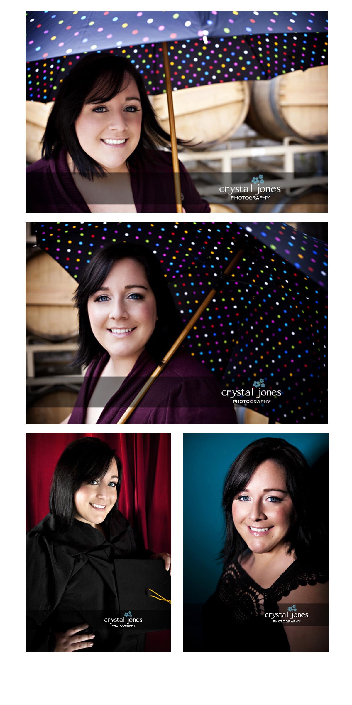 Sacramento State college graduate portraits