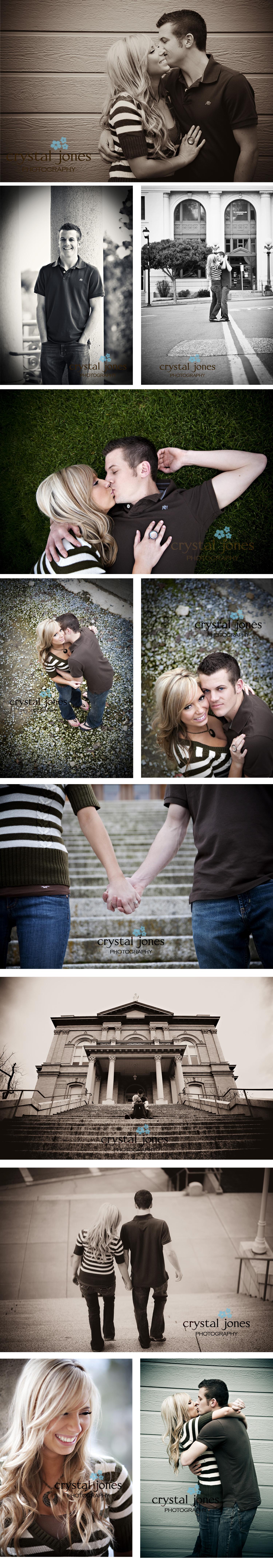 Auburn California engagement photos