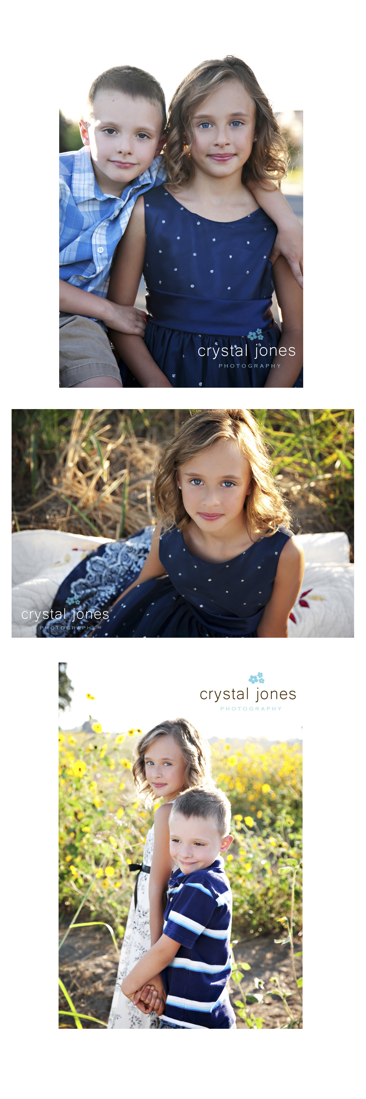 west sacramento sunset children's portrait session