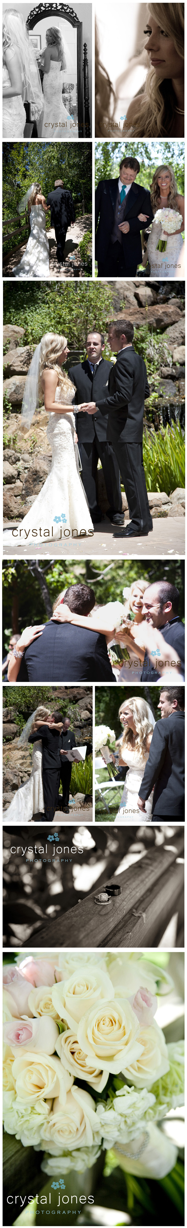 outdoor wedding at hanford court in sutter creek california