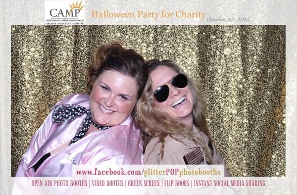 glitter pop photobooths halloween party