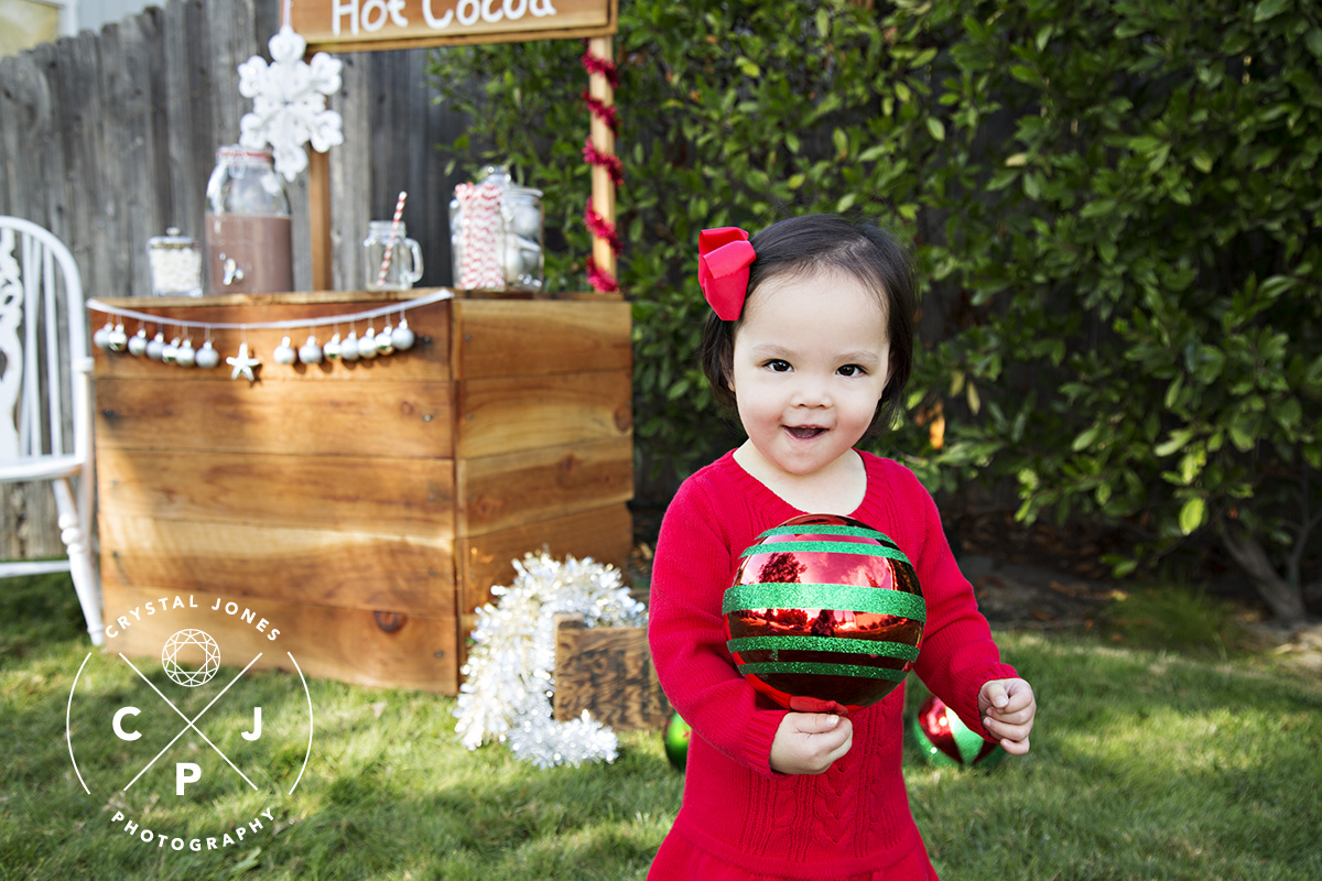 cocoa and candy canes mini sessions in rocklin california