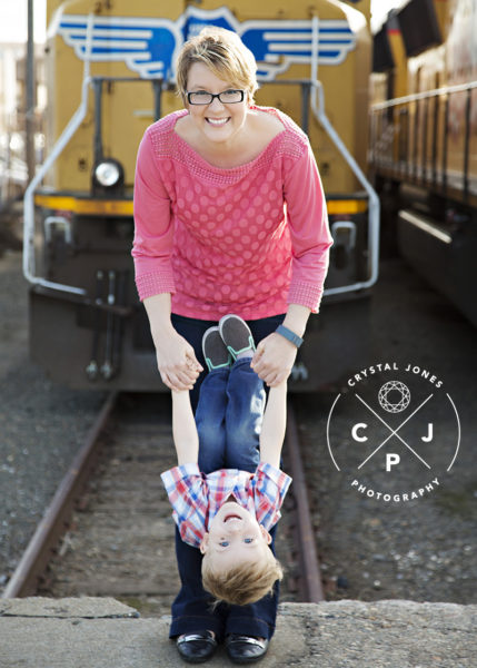 Downtown Roseville Professional Family Photos