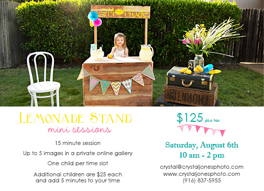 Lemonade Stand Promo Web