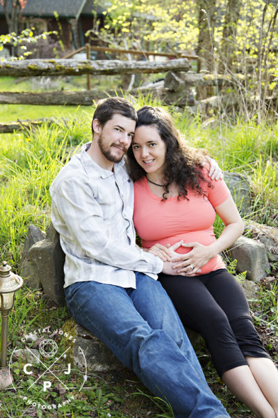 outdoor maternity portraits roseville