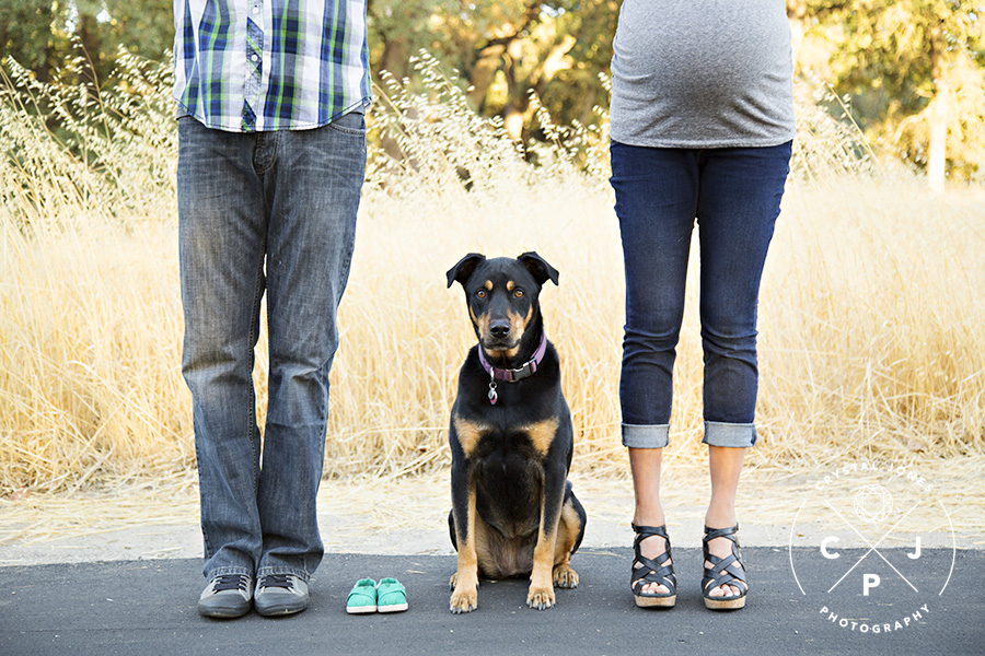 Fun and Playful Outdoor Maternity Portraits in Roseville California