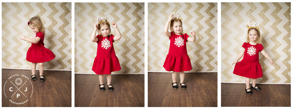Childrens Christmas Photos in El Dorado Hills CA