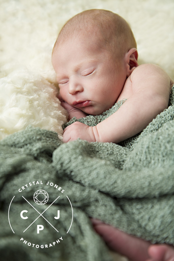 studio newborn session rocklin california